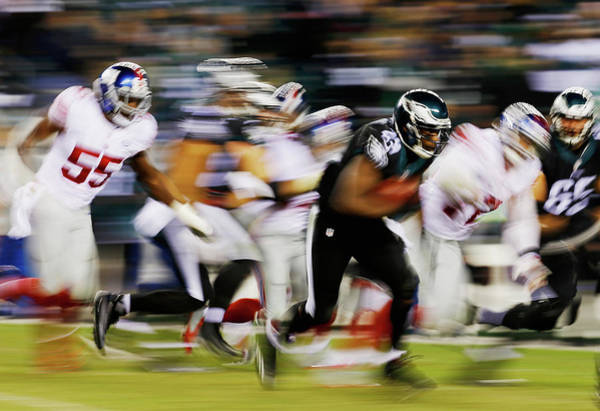 Photograph - New York Giants V Philadelphia Eagles by Al Bello