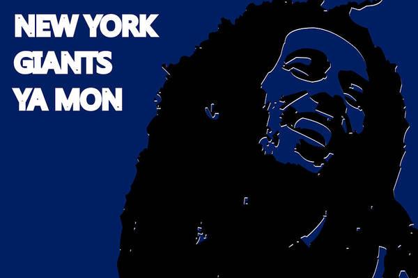 Drum Player Wall Art - Photograph - New York Giants Ya Mon by Joe Hamilton