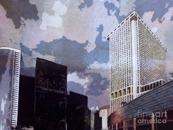 Painting - New York Impression by Lutz Baar