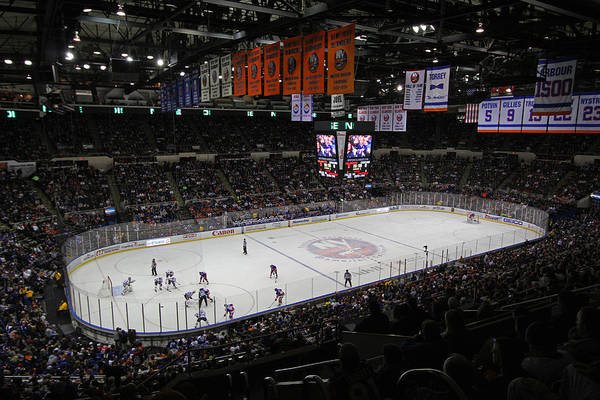 New York Islanders Photograph - New York Islanders by Juergen Roth