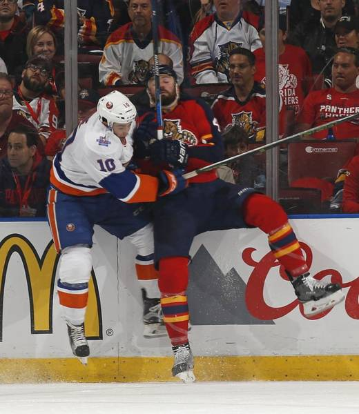 Stanley Cup Playoffs Photograph - New York Islanders V Florida Panthers - by Joel Auerbach