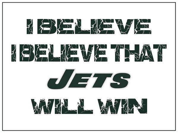 Saying Photograph - New York Jets I Believe by Joe Hamilton