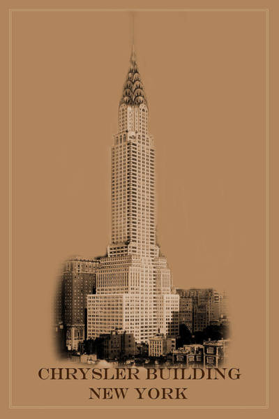 Photograph - New York Landmarks 1 by Andrew Fare