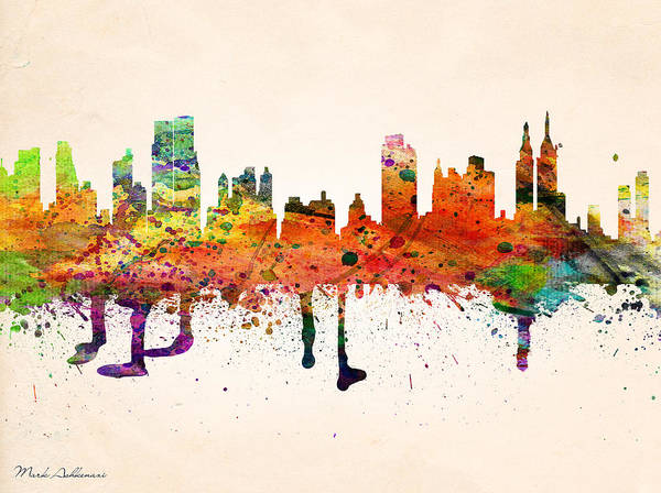 Famous Places Digital Art - new York  by Mark Ashkenazi