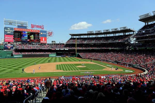 1 Photograph - New York Mets V. Washington Nationals by Alex Trautwig