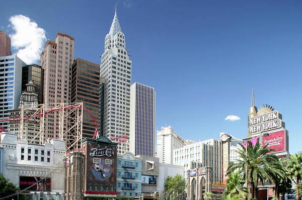 Las Vegas Photograph - New York New York Hotel, Las Vegas by Hisham Ibrahim