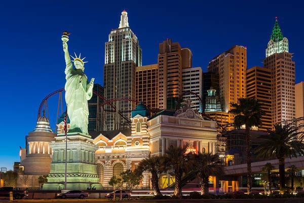 Photograph - New York New York Las Vegas by Clint Buhler