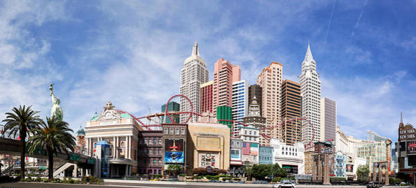 Wall Art - Photograph - New York New York Las Vegas by Jane Rix