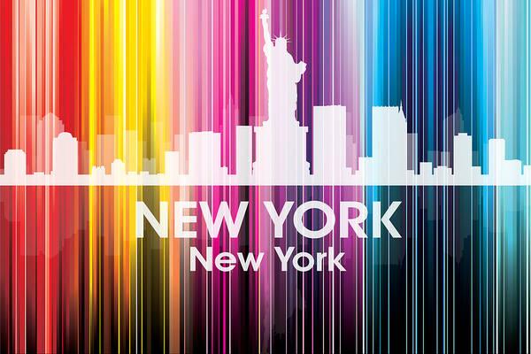 Metropolis Mixed Media - New York Ny 2 by Angelina Tamez