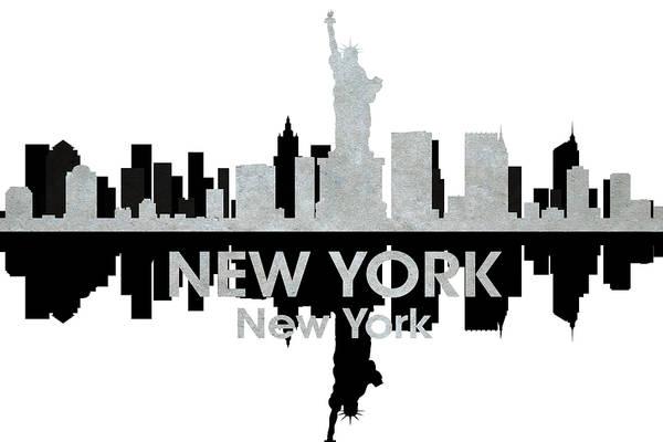 Metropolis Mixed Media - New York Ny 4 by Angelina Tamez