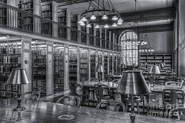 Photograph - New York Public Library Genealogy Room II by Clarence Holmes