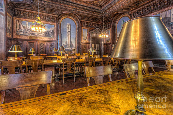 Photograph - New York Public Library Periodicals Room IIi by Clarence Holmes