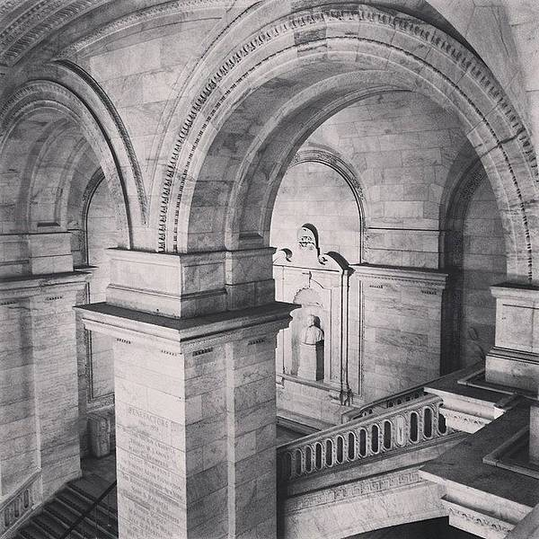 Wall Art - Photograph - New York Public Library by Randy Lemoine