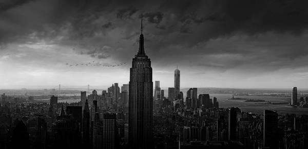 Manhattan Wall Art - Photograph - New York Rockefeller View by Wim Schuurmans