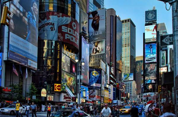 Blade Runner Photograph - New York Rush Hour by New York