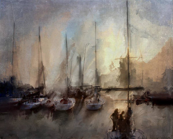 Photograph - New York Sails by Evie Carrier