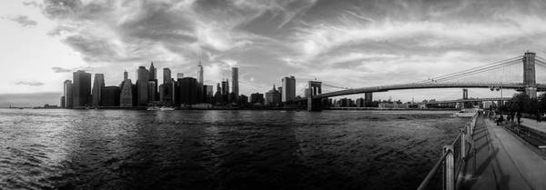 Mono Photograph - New York Skyline by Nicklas Gustafsson