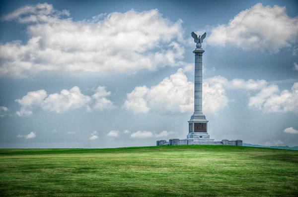 Photograph - New York State Monument by Guy Whiteley