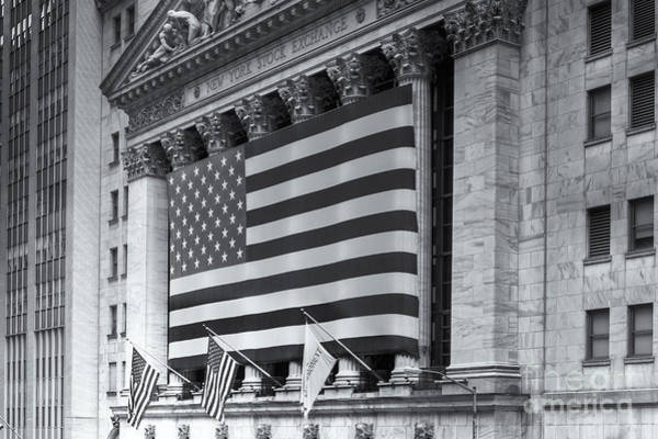 Capitalism Wall Art - Photograph - New York Stock Exchange Iv by Clarence Holmes
