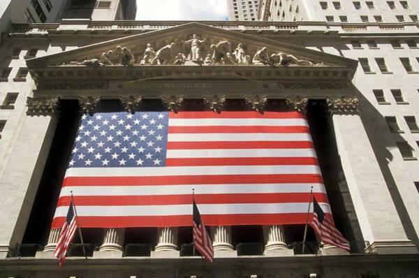 New Market Photograph - New York Stock Exchange by Jim West