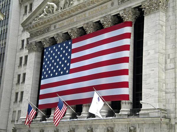 Photograph - New York Stock Exchange by Joan Reese