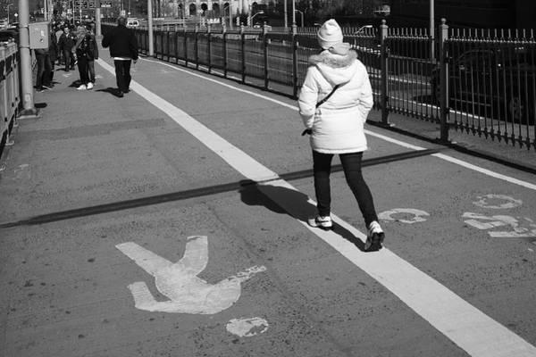Photograph - New York Street Photography 10 by Frank Romeo