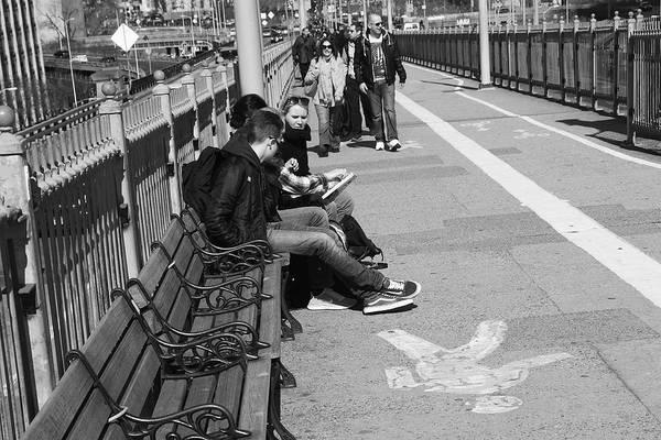 Photograph - New York Street Photography 15 by Frank Romeo