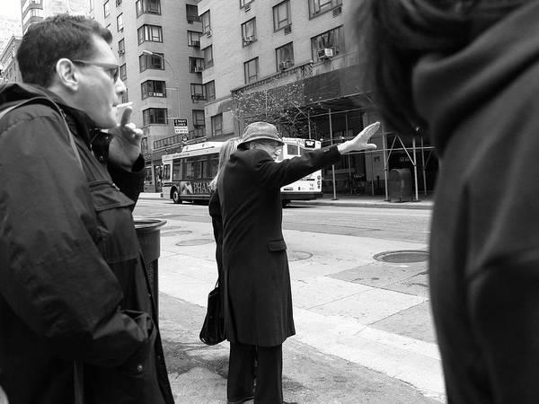 Photograph - New York Street Photography 16 by Frank Romeo