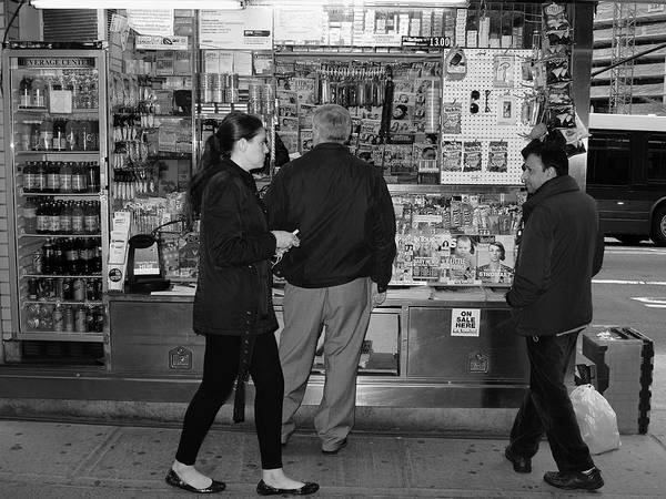 Photograph - New York Street Photography 18 by Frank Romeo