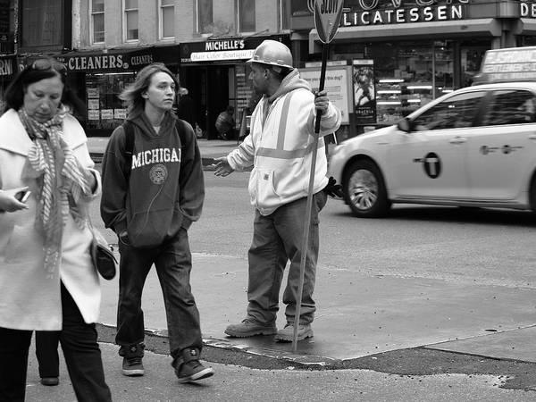 Photograph - New York Street Photography 34 by Frank Romeo