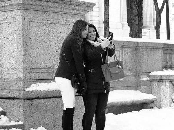 Photograph - New York Street Photography 49 by Frank Romeo