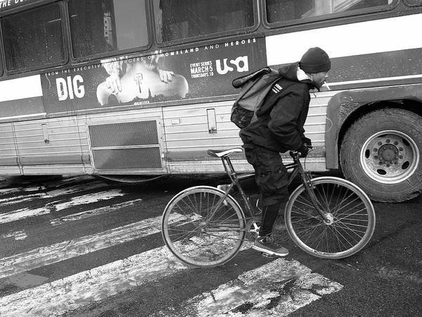 Photograph - New York Street Photography 50 by Frank Romeo