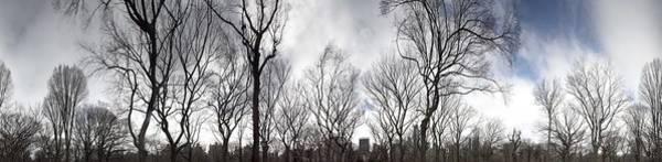 Photograph - New York Through Poets Walk by Dave Beckerman
