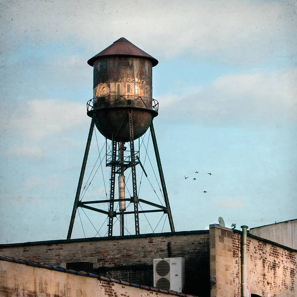 Photograph - New York Water Tower 7 by Gary Heller