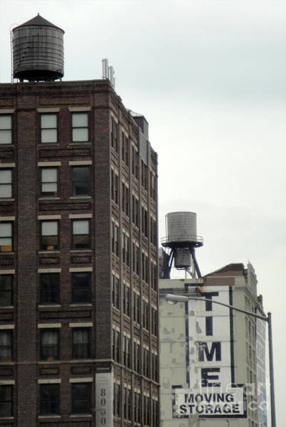 Photograph - New York Water Towers by Gregory Dyer