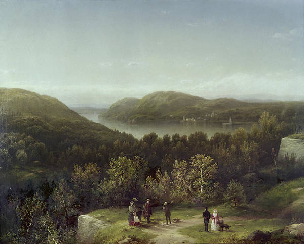 Wall Art - Painting - New York West Point, 1855 by Granger