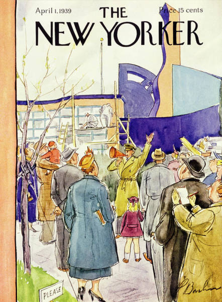 1 Painting - New Yorker April 1 1939 by Perry Barlow