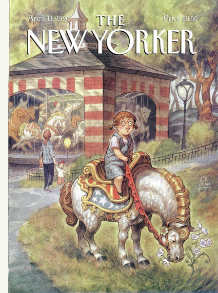 1994 Painting - New Yorker April 11th, 1994 by Peter de Seve