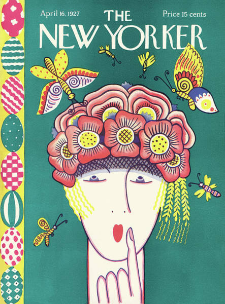 Ilonka Painting - New Yorker April 16th, 1927 by Ilonka Karasz