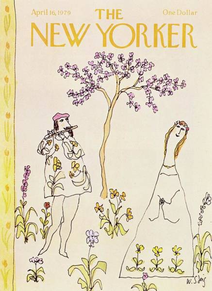 Wall Art - Painting - New Yorker April 16th 1979 by William Steig