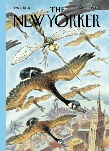 Wall Art - Painting - New Yorker April 17th, 2000 by Peter de Seve