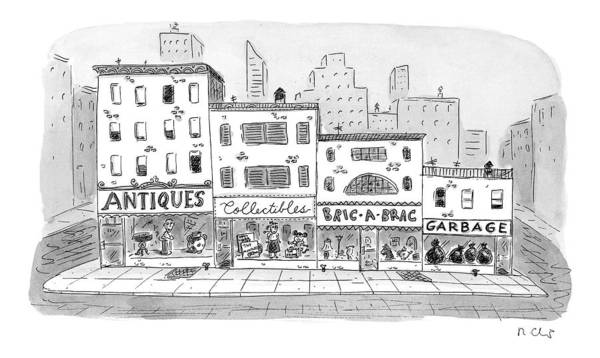 1998 Drawing - New Yorker April 20th, 1998 by Roz Chast