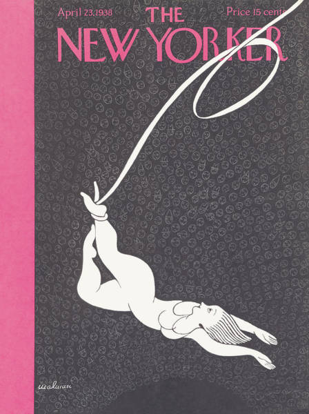 Magazine Cover Painting - New Yorker April 23rd 1938 by Christina Malman