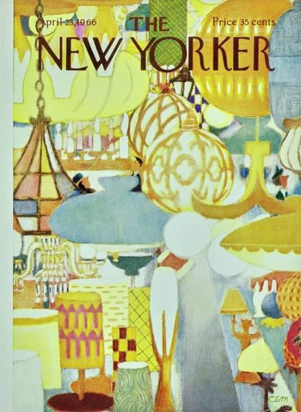 New Yorker April 23rd 1966 Art Print by Charles Martin