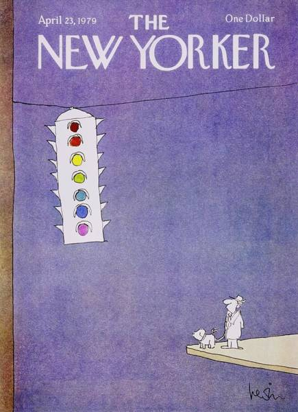Light Painting - New Yorker April 23rd 1979 by Arnie Levin