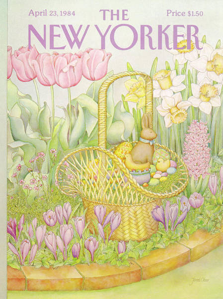 Candy Painting - New Yorker April 23rd, 1984 by Jenni Oliver
