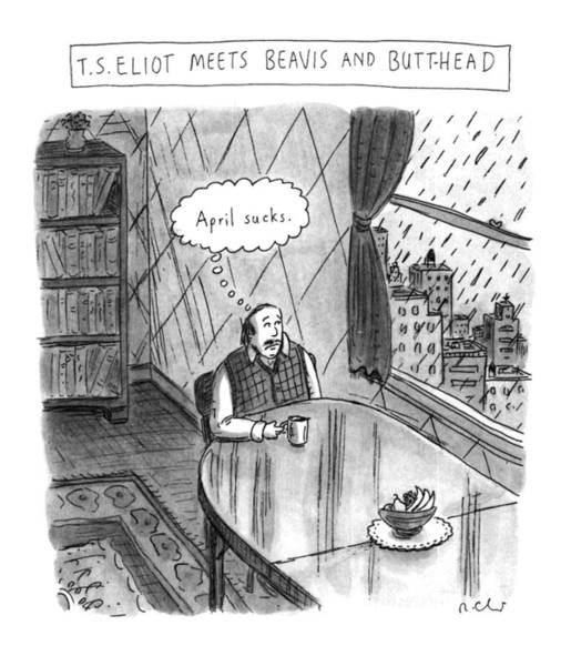 Wall Art - Drawing - New Yorker April 25th, 1994 by Roz Chast