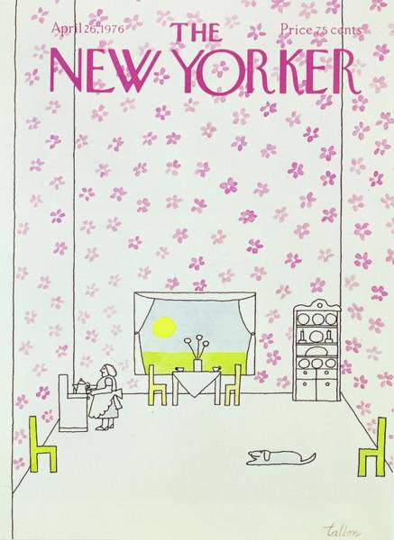 New Yorker April 26th 1976 Art Print