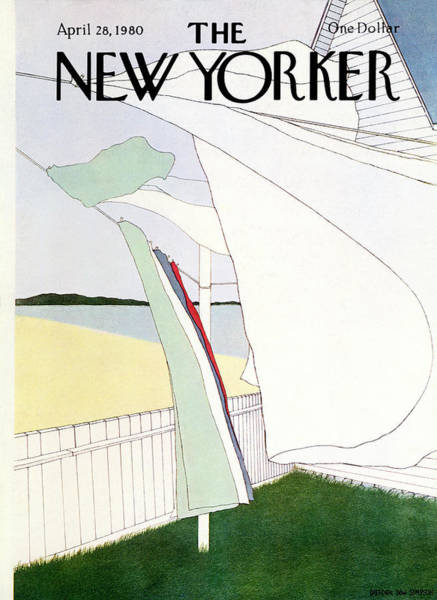Household Wall Art - Painting - New Yorker April 28th, 1980 by Gretchen Dow Simpson