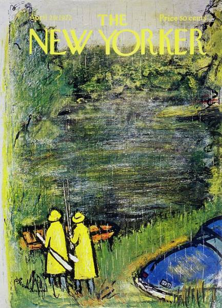 New Yorker April 29th 1972 Art Print by Abe Birnbaum